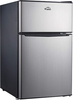 Compact Dual Door Refrigerator from Walsh