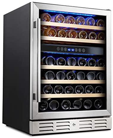 Kalemera Beverage Refrigerator - best under counter wine cooler