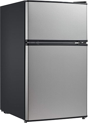 Stainless Steel Compact Refrigerator from Midea