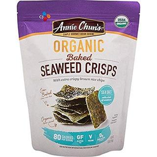 Annie Chun's Baked Seaweed Crisps - best seaweed snack brand