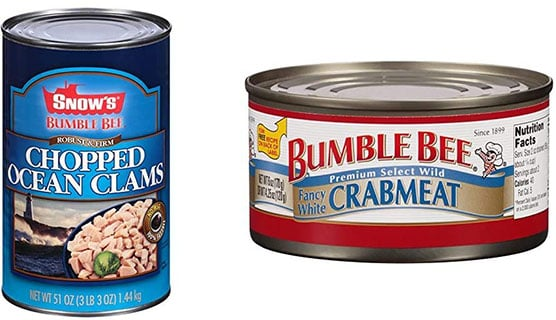 BUMBLE BEE SNOW'S Canned CrabMeat