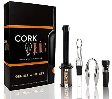 Cork Genius Wine Opener Set - best wine opener for seniors
