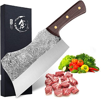 Dragon Riot Hand Forged Cleaver Knife - best meat cleaver knives