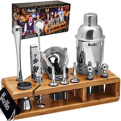 Elite Bartender Kit - best bartender kit with stand