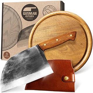 Gusman Cutlery Serbian Chef's Knife - serbian cooking knife