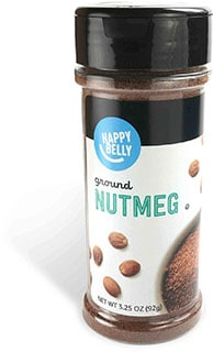 Happy Belly Nutmeg, Ground - best cinnamon substitutes