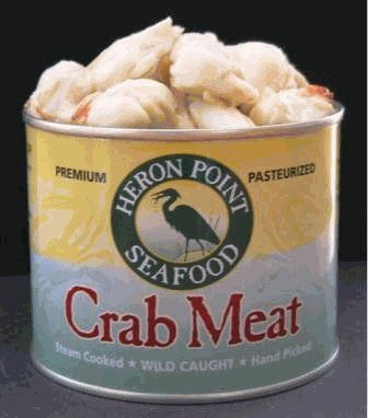 Heron Point Canned Crabmeat