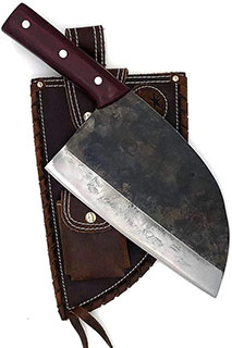 Kitchen Knife Cleaver - KOPALA - serbian style chef knife