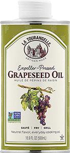 La Tourangelle Grapeseed Oil - best cast iron seasoning oil