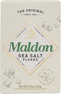 Maldon Sea Salt Flakes - best kosher salt for cooking