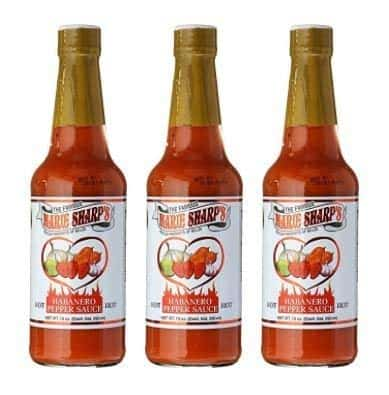 Marie Sharp's hot habanero pepper sauce - keto substitute for oyster sauce