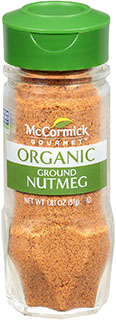 McCormick Gourmet Ground Nutmeg - Best substitute For Cinnamon