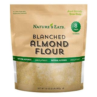Nature's Eats Blanched Almond Flour - coconut flour replacement