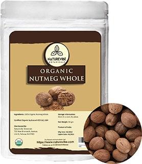 Naturevibe Botanicals Organic Nutmeg