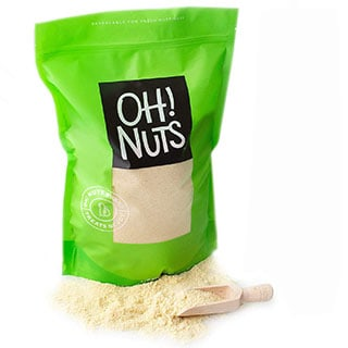 Oh! Nuts Blanched Almond Flour, Gluten-free - can you substitute coconut flour for almond flour