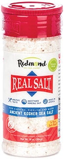 Redmond Real Sea Salt - best kosher salt for steak