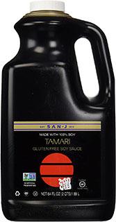 San-J Tamari Soy Sauce - vegan substitute for oyster sauce