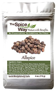 The Spice Way Allspice - best cinnamon substitutes