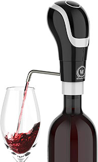 WAERATOR Instant 1-Button Electric Aeration and Decanter