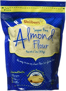 Wellbee's Blanched Almond Flour/Powder - sub for coconut flour