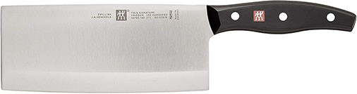 Zwilling JA Henckels 7'' Twin Signature Chinese Chef Knives - best chinese meat cleaver