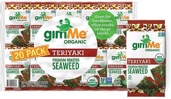 gimMe Organic Roasted Seaweed Sheets