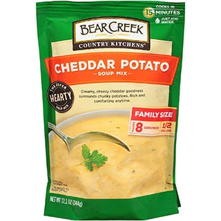 Can you freeze bear creek potato soup