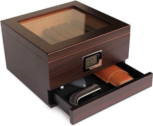 Case Elegance Humidor - Best Cigar Humidors