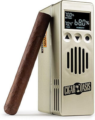 Cigar Oasis Excel 3.0 Electronic Humidor - Best electric Cigar Humidors