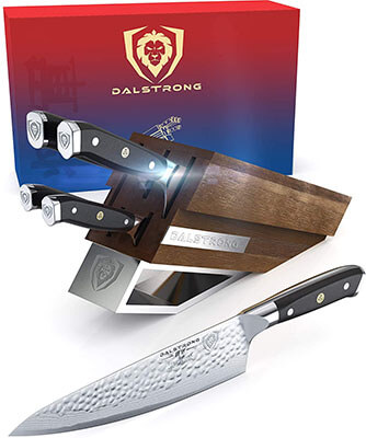 DALSTRONG Knife Set Block - dalstrong shogun review