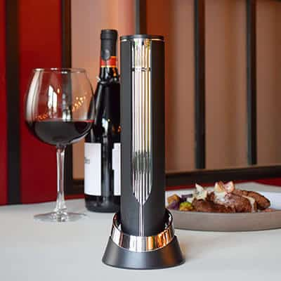 Electric Wine Bottle Opener from Sommelier