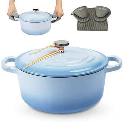 KUTIME Dutch Oven Baking Pot - best dutch oven for sourdough bread