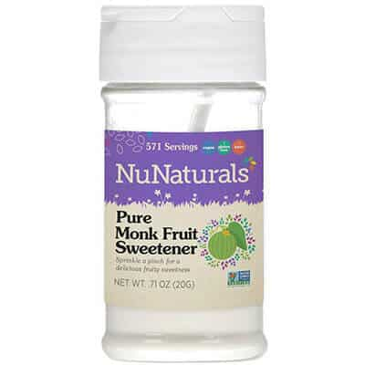 Nu naturals all-natural pure monk fruit extract