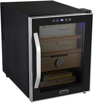 Whynter Chc-122bd Elite Touch Control Stainless Cigar - Best Cigar Humidors for home