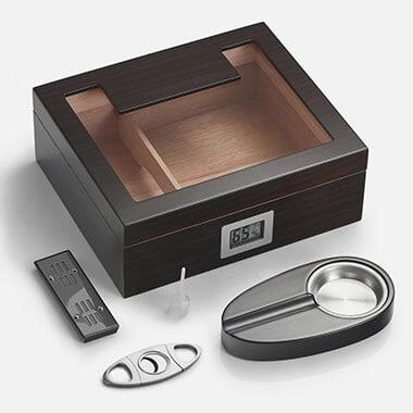 Woodronic Handmade Cigar Humidor With Digital Hygrometer - Best Cigar Humidors reviews