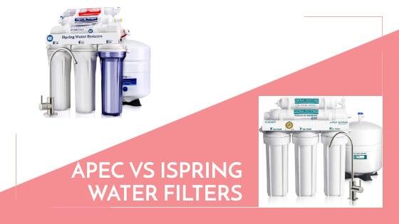 apec vs ispring water filters