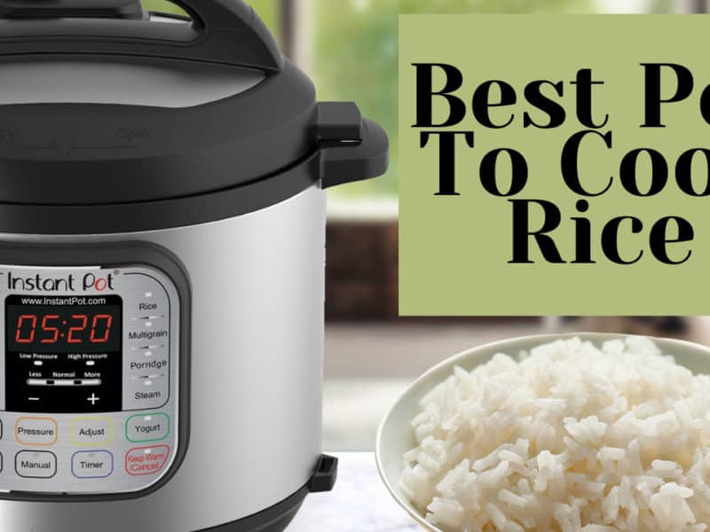 Best Pot To Cook Rice