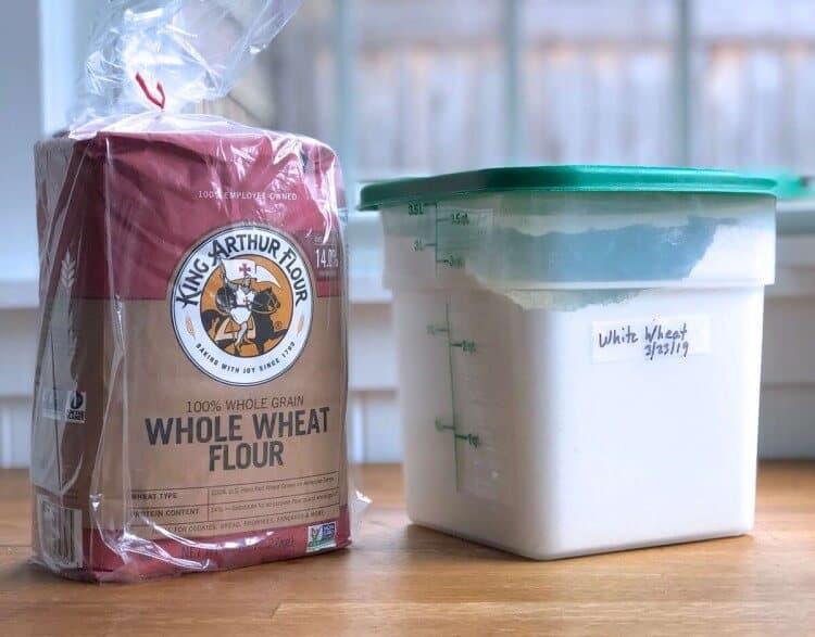 can you freeze flour?