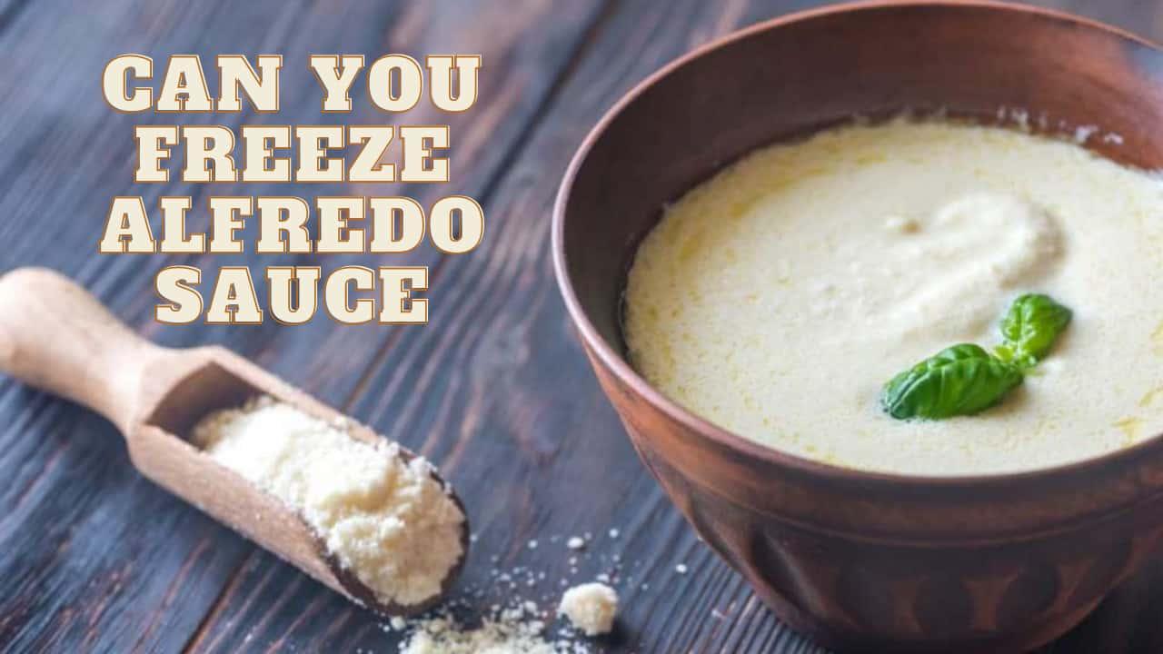Can You Freeze Alfredo Sauce