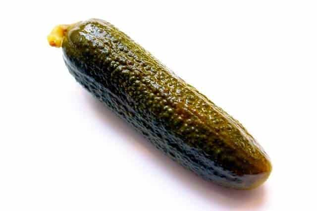 Can you eat gherkins without pickling