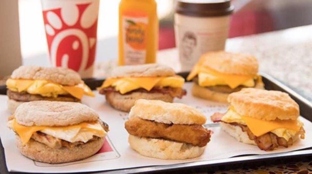 Chick Fil A Breakfast Hours