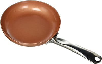 Copper Chef 8 inch Non Stick Fry Pan - best non stick cookware without teflon
