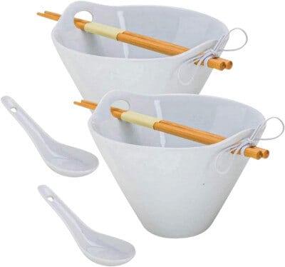 Tasse Verre Porcelain Noodle Soup Bowl Best ramen Bowl