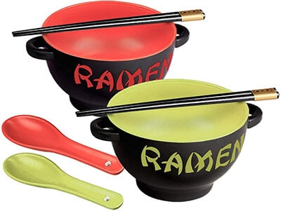 Toysdone Ceramic Ramen Bowl