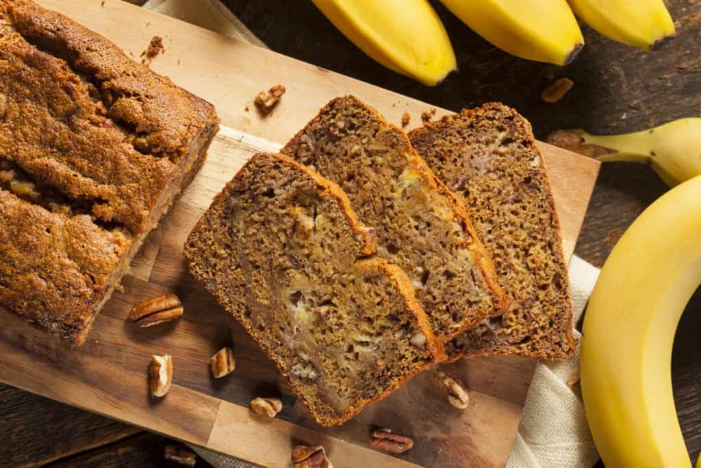 vegan banana bread last