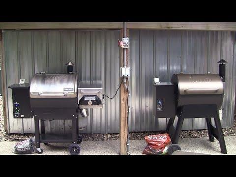 Camp chef dlx vs Traeger