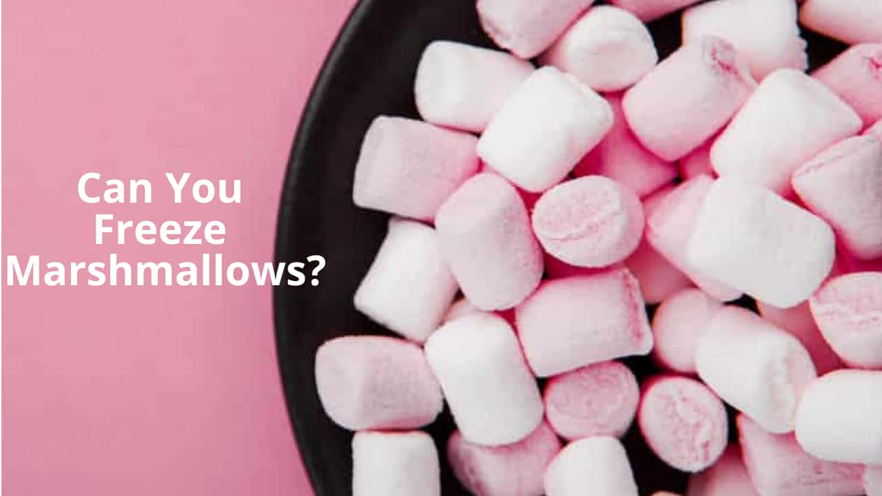 Can You Freeze Marshmallows?