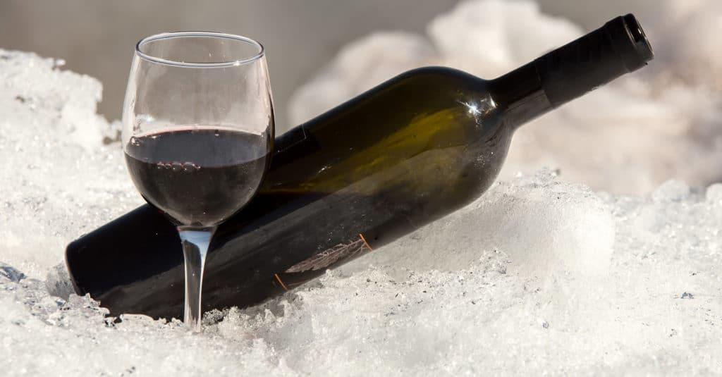 does wine freeze
