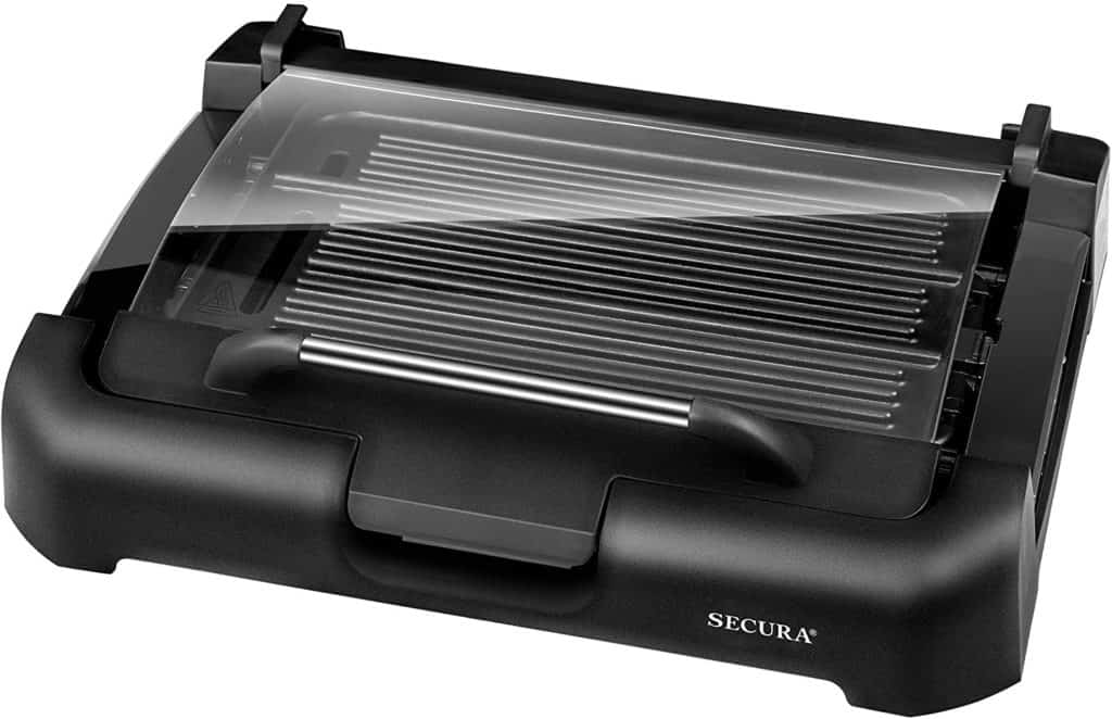 Electric cast iron Flat top grill by Secura