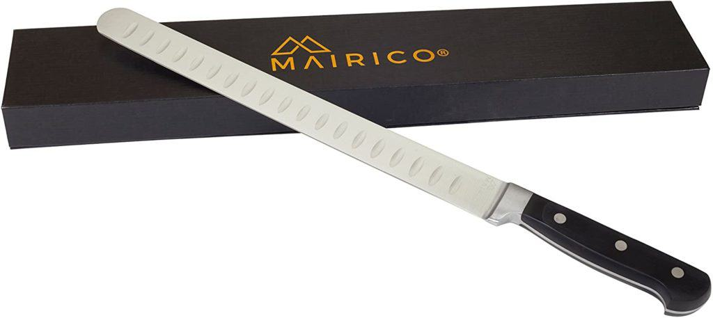 MAIRICO UltraSharp premium 11-inch stainless steel carving knife